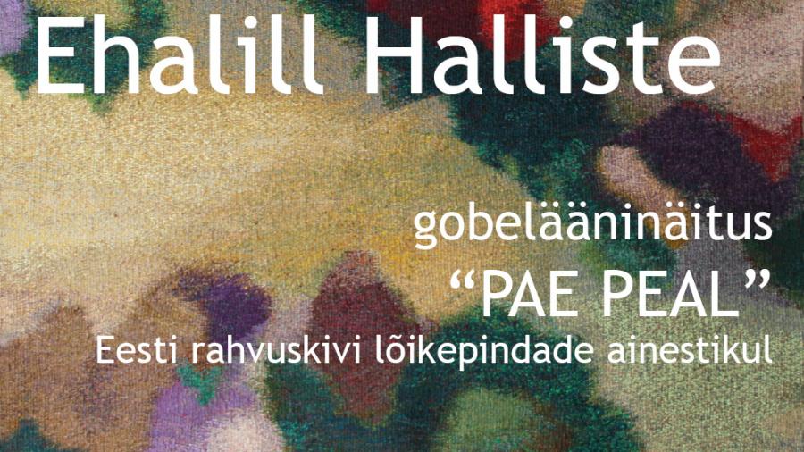 Ehalill_Haliste_plakat