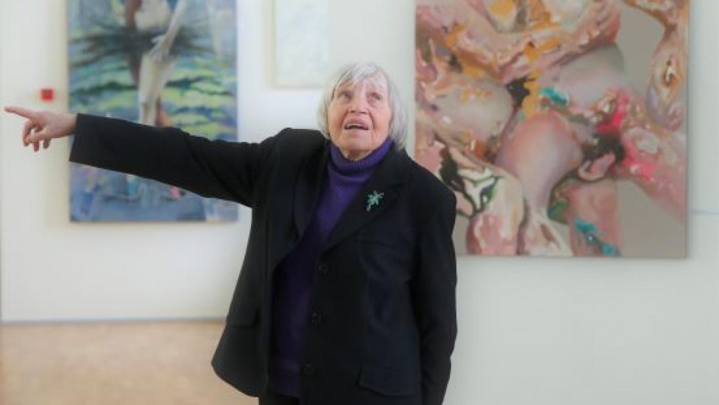 Mai Levin Eesti Maalikunstnike Liidu aastanäitusel