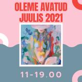 OLEME AVATUD JUULIS